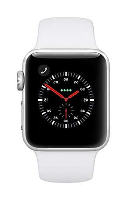 Apple Watch Series 3  - Silver Aluminium Case with White S