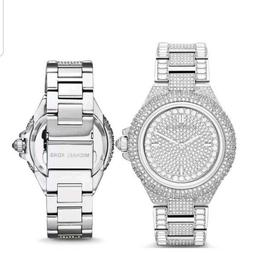 Michael Kors Watches MK5869 Camille Silver Glitz Stainless S