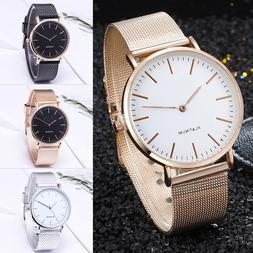 Women Girl Luxury Watches Stainless Steel Analog Quartz Brac