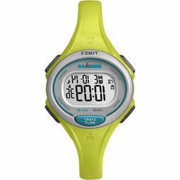 Timex Women's Ironman Essential 30 Mid-Size Watch, Lime Resi