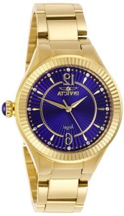 Invicta Women's Angel 28281 35mm Blue Dial Stainless Steel W