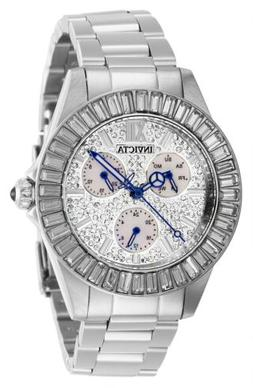 Invicta Women's Angel 28445 38mm White Dial Stainless Steel