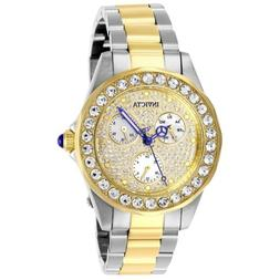 Invicta Women's Angel 28458 38mm White Dial Stainless Steel