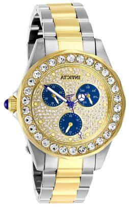 Invicta Women's Angel 28460 38mm Blue Dial Stainless Steel W
