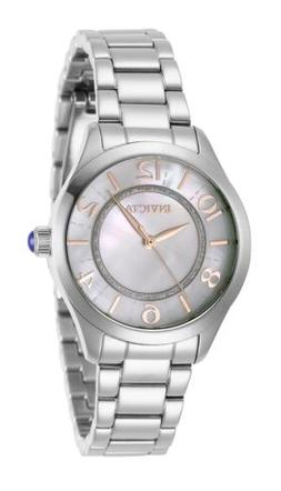 Invicta Women's Angel 31107 33mm White Dial Stainless Steel