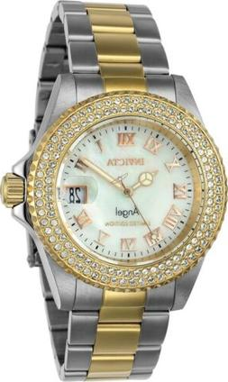 Invicta Women's Angel Limited Edition 40mm SS Two Tone Gold