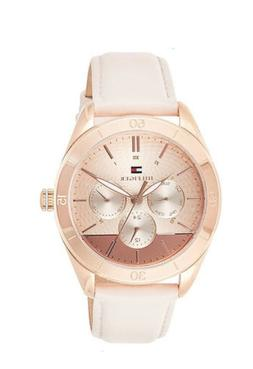 Tommy Hilfiger Women's Blush Leather Strap Watch 40mm 178188