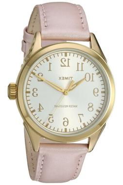Timex Women's Briarwood Terrace Pink Leather Dress Watch TW2