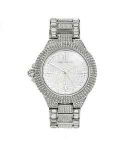 Michael Kors Women's Camille Crystal Stainless Steel Watch M