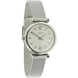 Fossil Women's Carlie ES4432 Silver Stainless-Steel Japanese