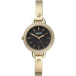 Fossil Women's Classic Minute BQ3425 32mm Black Dial Stainle