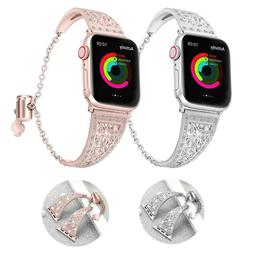 Women's Diamond Strap for Apple Watch Series 4 3 2 1 IWatch