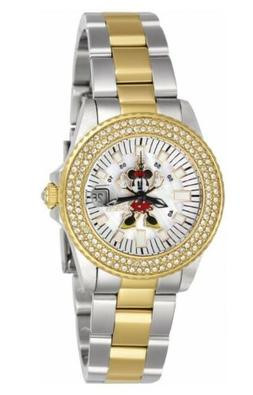 Invicta Women's Disney Limited Edition Minnie Mouse Crystal