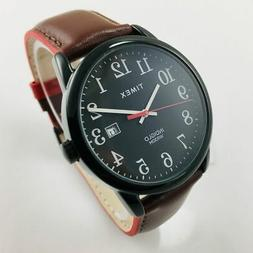Women's Timex Easy Reader Brown Leather Band Watch TW2R62300