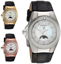 Technomarine Women's Eva Longoria Moonphase 34mm Watch - Cho