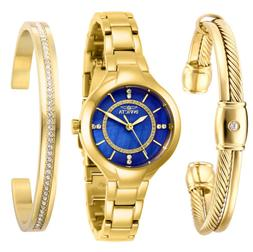 Invicta Women's Quartz Watch - Angel Blue Mother of Pearl Di
