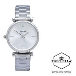 Women's Fossil The Carbon Series Stainless Steel Watch ES444