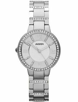Fossil Women's Virginia Stainless Stainless Steel Watch ES32