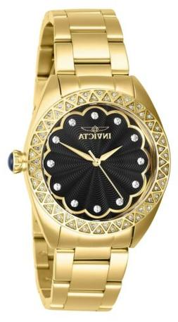Invicta Women's Wildflower 28831 35mm Black Dial Stainless S