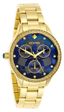 Invicta Women's Wildflower 29095 35mm Blue Dial Stainless St