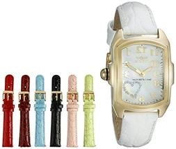 Women's Sp. Ed. Lupah White Genuine Leather MOP Dial - Invic