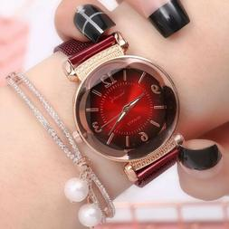 Women watch Fashion wild New watch Milan Magnet Buckle Luxur