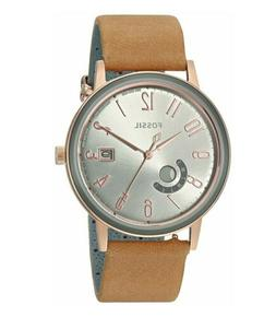 Fossil Womens Vintage Muse ES4266 Brown Leather Rose Gold To